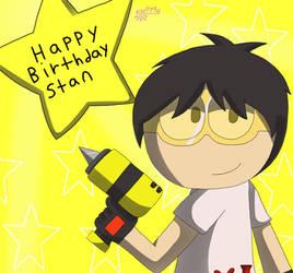 happy birthday stan~ by hikari75