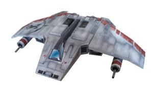 V-Wing paper model template