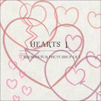 Hearts I by GrayscaleStock