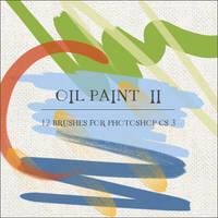 Oil Paint II by GrayscaleStock