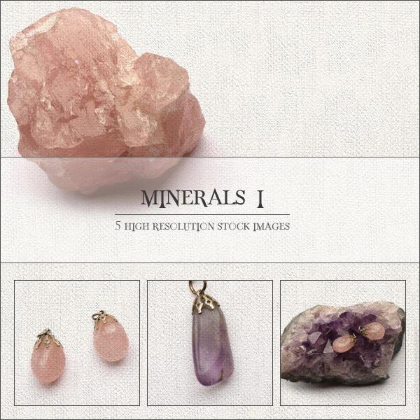 Minerals I by GrayscaleStock