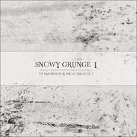 Snowy Grunge I by GrayscaleStock