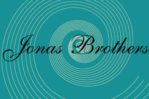 Jonas Brothers Font by makeittomyway