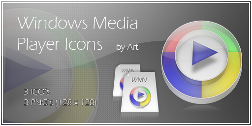 Light WMP Icons by Arti-Ds