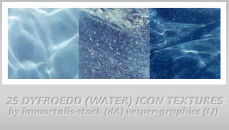 25 Water Icon Textures by immortalis-stock