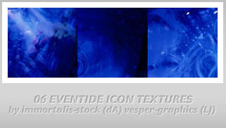 6 'Eventide' Icon Textures by immortalis-stock