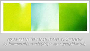 7 Lemon 'n Lime Icon Textures