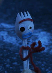 Forky is Not Paying Attention