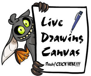 Live Drawing Canvas by kaykaykit