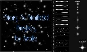 Stars + Starfield Brushes