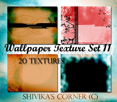 Wallpaper Texture Set 11 by spiritcoda