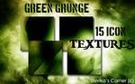 Green Grunge Icon Textures