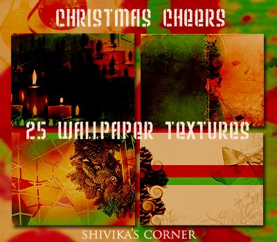 Christmas Wallpaper Texture by spiritcoda