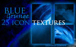 Blue Grunge Icon Textures