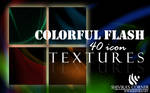 Colorful Flash Icon Textures
