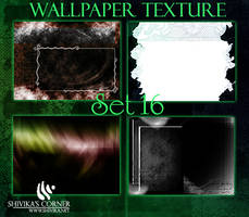 Wallpaper Texture Set 16 by spiritcoda