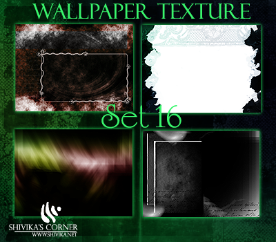 Wallpaper Texture Set 16 by spiritcoda
