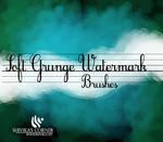 Soft Grunge WaterMark Brushes