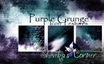 Purple Grunge Icon Textures