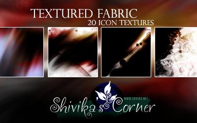Textured Fabric Icon Textures by spiritcoda