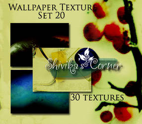Wallpaper Texture Set 20 by spiritcoda