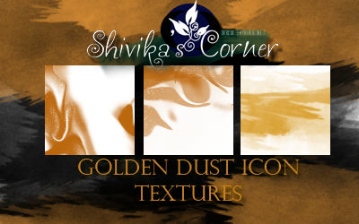 Golden Dust Icon Textures by spiritcoda