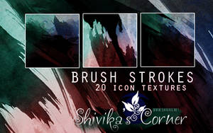 Brush Strokes Icon Textures by spiritcoda