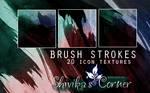 Brush Strokes Icon Textures