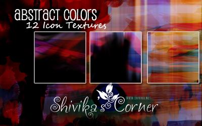 Abstract Color Icon Textures by spiritcoda