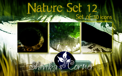 Nature Set 12 Icon Textures by spiritcoda