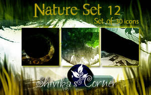 Nature Set 12 Icon Textures by spiritcoda