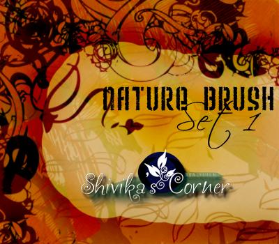 Nature Brush Set 1 by spiritcoda