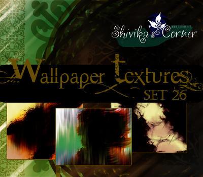Wallpaper Texture Set 26 by spiritcoda
