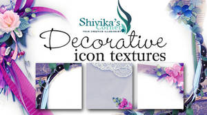 Decorative Framed Icon Textures
