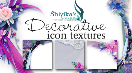 Decorative Framed Icon Textures by spiritcoda
