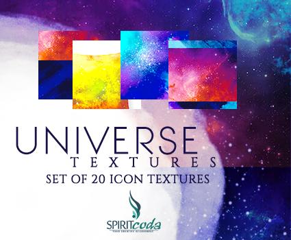 Icon Textures - Universe Set of Textures (20 )