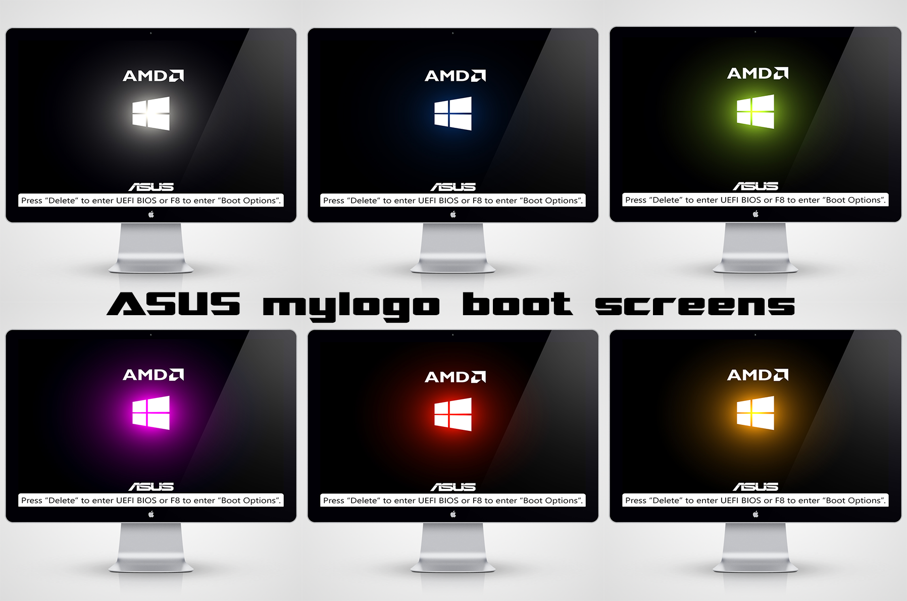 ASUS - MyLogo Boot Screens [AMD Version] by unnamed8848 on