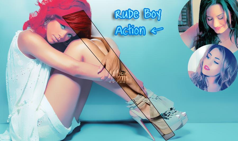 Rude Boy Action. by MissWeasleyJB