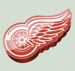 Detroit Red Wings Icon by madeofglass13