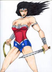 Wonder Woman by BioHzrdAMD