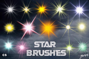 Star Brushes by jen-ni