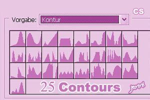 25 Contours by jen-ni