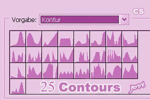 25 Contours