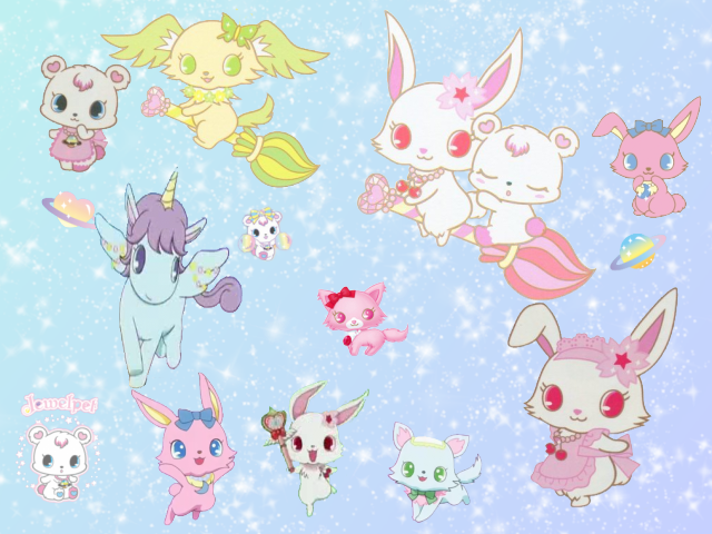 Jewelpet brushes by magicmoons