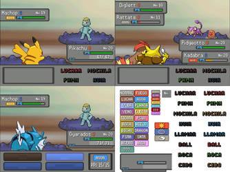 Loyalty Battle UI Pokemon Essentials 17.2 ESP by Tepokato