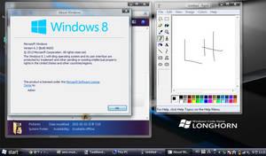 Windows Vista Beta 1 theme for Windows 8 and 8.1