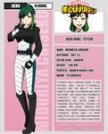 Midoriya Chiseko's 2nd Year Sheet