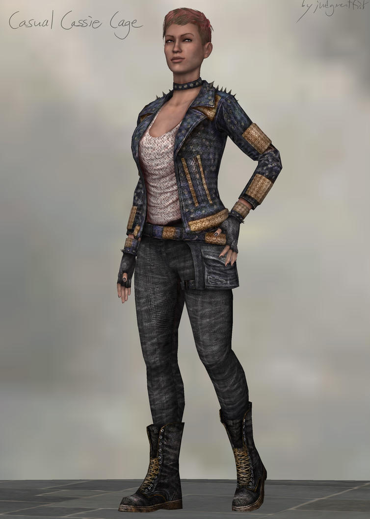 casual cassie cage xps download by judgmentfist on