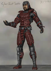 Cyber Suit Sektor [xps download] by judgmentfist