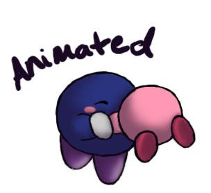 Mety spins Kirby by LoveBobu